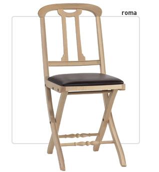 Casa immobiliare accessori sedie pieghevoli roma for Sedie design roma